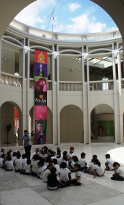Art Education at Frida Kahlo Exhibit in Merida